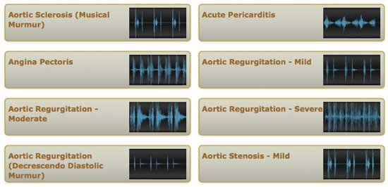 auscultation library